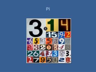 Pi er sannsynligvis verdens mest ber mte tall. De feste av oss kjenner tallet som 3,14. Tallets symbol er den greske bok