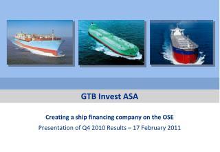 GTB Invest ASA