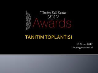 TANITIM TOPLANTISI