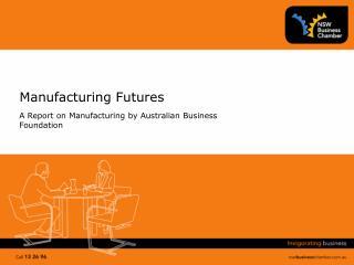 Manufacturing Futures