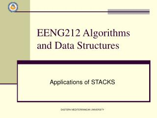 EENG212 Algorithms and Data Structures