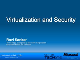 Virtualization and Security