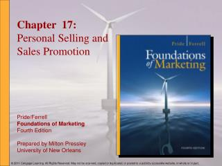 Chapter  17: Personal Selling and Sales Promotion