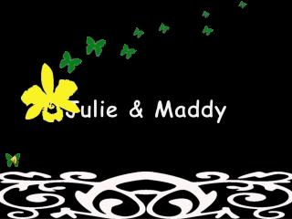 Julie and Maddy's invite