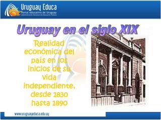 Uruguay en el siglo XIX