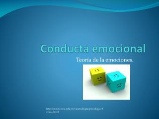 Conducta emocional