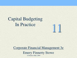 Corporate Financial Management 3e   Emery Finnerty Stowe