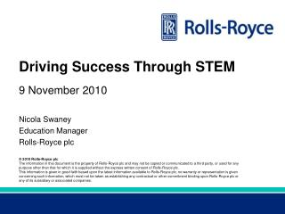Driving Success Through STEM