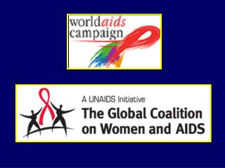 The theme for World AIDS Day           T ma pro Svetov  den AIDS 1.12.04  Women, Girls, HIV and AIDS