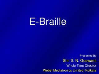 E-Braille