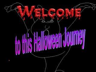 to this Halloween Journey 1.When is Halloween