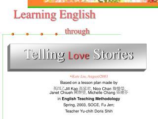 Telling Love Stories
