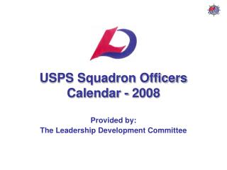 USPS Squadron Officers Calendar - 2008