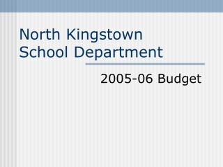 Budget PowerPoint Presentation to the Town Council - March 28 ...