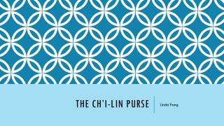 The Ch i-lin Purse by Linda Fang