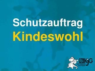 Schutzauftrag Kindeswohl