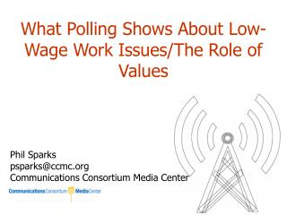 What Polling Shows About Low-Wage Work Issues