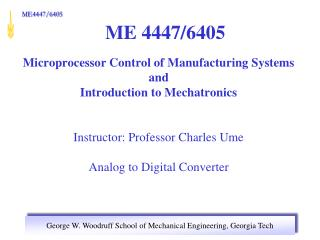 ME 4447