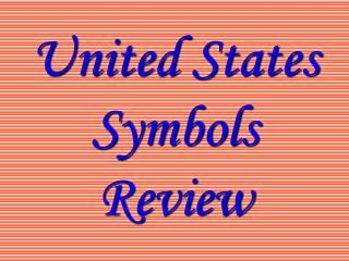 United States Symbols Review