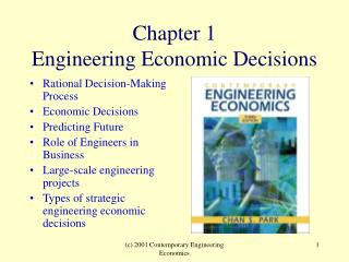 Chapter 1 Engineering Economic Decisions