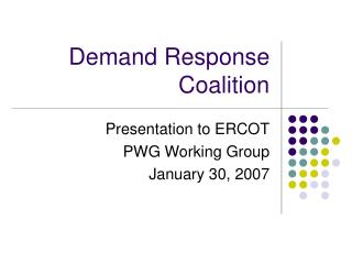 Demand Response Coalition