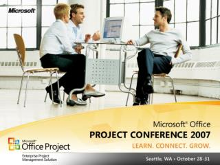 Project Standard and Professional 2007 Overview