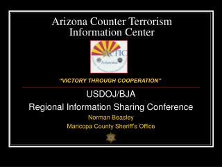 Arizona Counter Terrorism Information Center Briefing