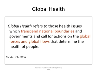 Human Rights and the International Health Regulations 2005