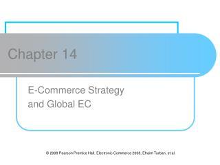 E-Commerce Strategy  and Global EC