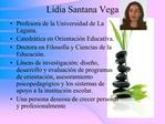 Lidia Santana Vega