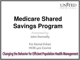Medicare Shared Savings Program