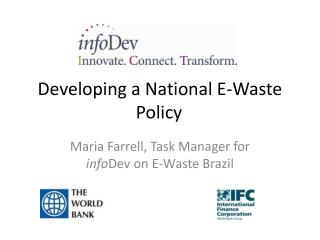 Developing a National E-Waste Policy