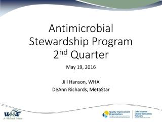 Antibiotics Update  2005
