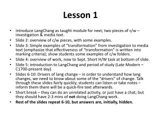 Linguistics 21:   Lecture 5: LANGUAGE, POWER, AND POLITICAL CORRECTNESS