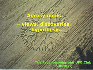 Agrosymbols    views, discoveries, hypothesis