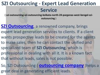 szi-outsourcing-szi-outsourcing-kolkata-north-24-parganas