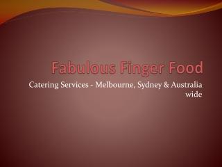 Fabulous Finger Food