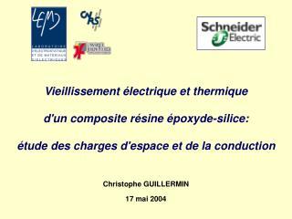 Vieillissement  lectrique et thermique  dun composite r sine  poxyde-silice:   tude des charges despace et de la conduct