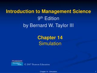 Chapter 14 - Simulation