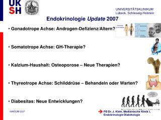 Endokrinologie Update 2007