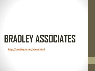 BRADLEY ASSOCIATES BARCELONA SPAIN: ABOUT
