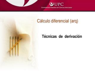C lculo diferencial arq
