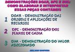 DFC - DEMONSTRA  O DOS  FLUXOS DE CAIXA