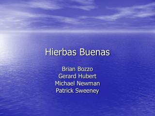 Hierbas Buenas