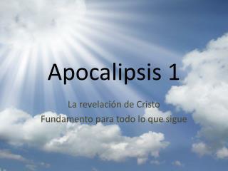 Apocalipsis 1