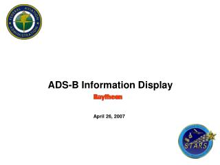 ADS-B Information Display     April 26, 2007