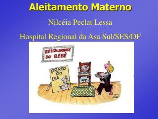 Aleitamento Materno  Nilc ia Peclat Lessa Hospital Regional da Asa Sul