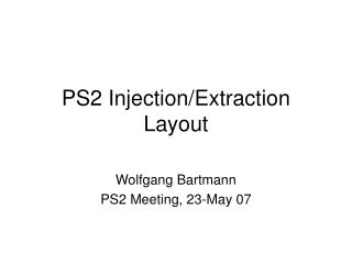 PS2 Injection