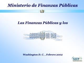 Ministerio de Finanzas P blicas