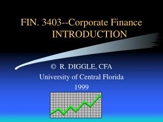 FIN. 3403--Corporate Finance  INTRODUCTION